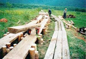 東電では、所有地を中心に、約20kmの木道を敷設、維持管理している(東電のホームページより)