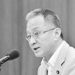 (写真)参考人に質問する笠井亮議員=5月29日、衆院原子力特