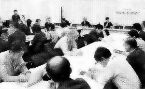 福島事故後の原子力事故損害賠償のあり方で開かれた日弁連の院内学習会=10月14日、国会内