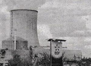 フランス西部にあるシボー原発=10月21日(ロイター)