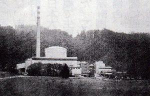 11月27日、スイスのベルン近郊にあるミューレベルク原発(AFP時事)